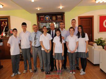 Hasan Ali Yücel İlköğretim Okulu'ndan Başkan Kocamaz'a Ziyaret