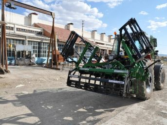 Yerköy Sanayisinde Piston Katlamalı Kazayağı Üretildi