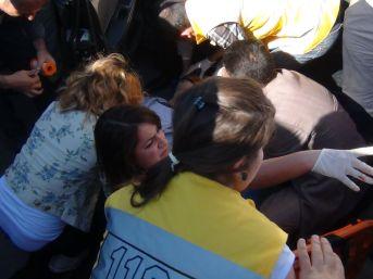 Muş'ta Ambulans Kazası