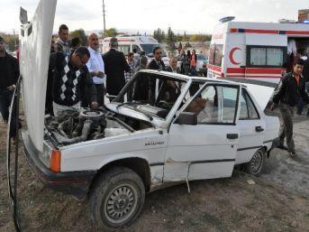 Yerköy'de Trafik Kazası: 8 Yaralı