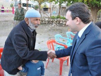 Hasankeyf Kaymakamı Köyleri Ziyaret Etti