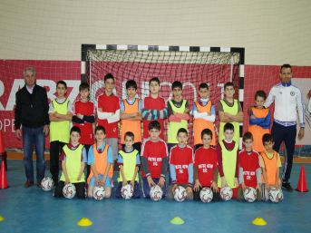 Vakfıkebir'de Futsal Yaygınlaştırılıyor