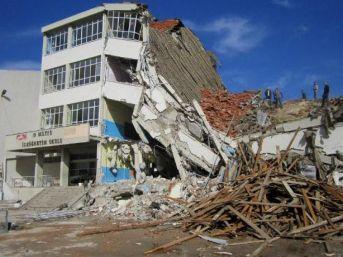 Turgutlu 19 mayıs ilköğretim okulu binasının olası bir