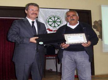 Pancarda Yüksek Verimi Yakalayan Çiftçiler Bilgisayarla Ödüllendirildi