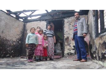 Evleri Yanan Ailenin  Komşudaki Zorunlu Misafirliği