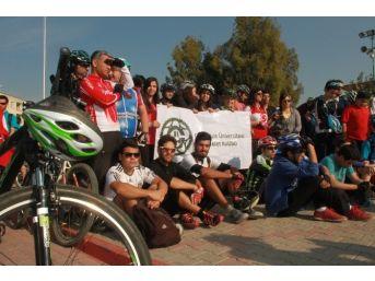 """Çü Bisiklet Kulübü """"tarsus Kültür Turu"""" Etkinliğine Katıldı"""