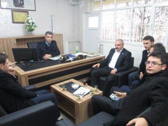 Eren, Yeni Atanan Okul Müdürlerini Ziyaret Etti