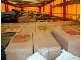 Bitlis'Te 443 Bin 500 Paket Kaçak Sigara Ele Geçirildi