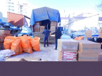 Yüksekova'da 475 Bin Paket Kaçak Sigara Ele Geçirildi