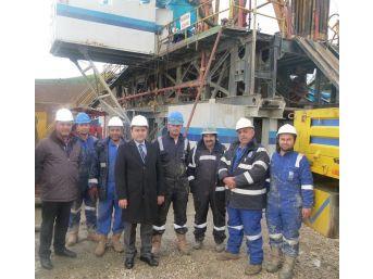 Kaymakam Mehmet Tunç'tan Üretim Tesislerine Ziyaret