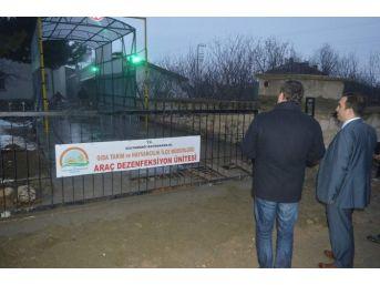Sultandağı'nda Dezenfeksiyon Tüneli Hizmete Girdi