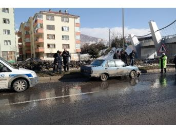 Kızılcahamam'da Trafik Kazası: 1 Yaralı