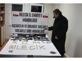 Bilecik'te Silah Atölyesine Baskın; 1 Gözaltı