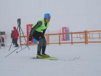 Bitlis'te Kayaklı Koşu 1'inci Etap Yarışması Başladı