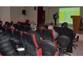 Okul Müdürleriyle Teog Değerlendirme Toplantısı