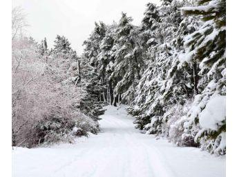 Simav'da Kar Yağışı En Çok Çocuklara Yaradı