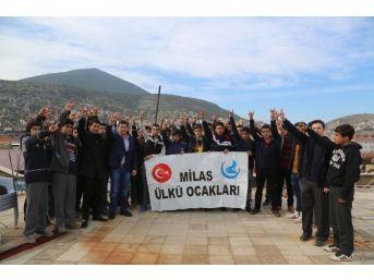 Milas Ülkü Ocakları Uygur Türklerine Destek Verenlere Teşekkür Etti