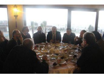 Başkan İnci Basın Mensuplarıyla Bir Araya Geldi