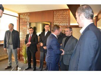 Ak Parti Çerkezköy İlçe Başkanı Öge Tanışma Ziyaretlerini Sürdürüyor