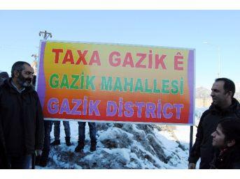 Tunceli'de Mahalle Meclisi Cumhuriyet Mahallesi'nin İsmini Değiştirdi