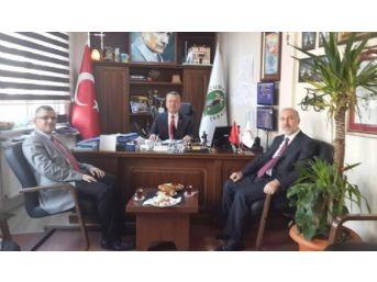 Müftü Keskin'den Başkan Kantarcı'ya Veda Ziyareti