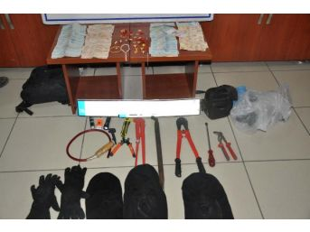Adıyaman'Da Hırsızlık Şüphelisi 3 Kişi Yakalandı