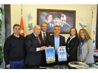 Bosna Hersek Fahri Konsolosu'ndan Başkan Kayalı'ya Ziyaret