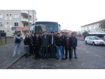 Didim Mesleki Eğitim Öğrencileri Brüksel'e Gidiyor