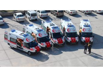 Bartın'a 5 Yeni Ambulans Müjdesi