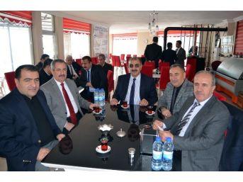 Adilcevaz'da İlçe Milli Eğitim Müdürleri Toplantısı