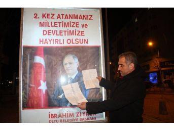 Birahane İşletmeci Polisleri Posteri Önünde Bakana Şikayet Etti