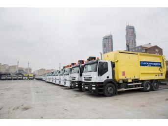 Küçükçekmece Belediyesi, Temizlik Filosuna Yeni Araçlar Kazandırdı