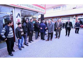 Başkan, Gebze Ve Çayırova'daincelemelerde Bulundu