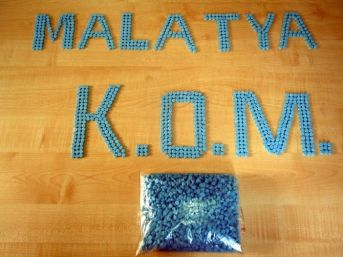 Malatya'da 3 Bin 280 Adet Ecstasy Hap Ele Geçirildi