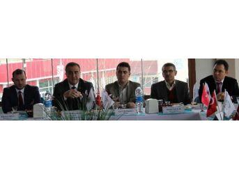 Alaşehir'de Kooperatif Başkanlarıyla Bilgilendirme Toplantısı