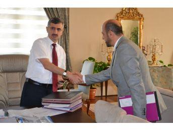 Yeni Müdür Akkuş'tan Vali Bektaş'a Ziyaret