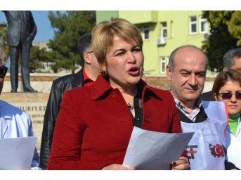 Osmaniye'de Aile Hekimlerine Nöbet Tepkisi
