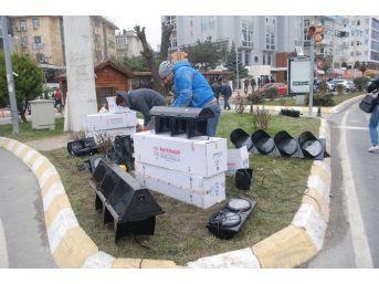 Tekirdağ'da Trafik Sinyalizasyon Sistemi Yenileniyor
