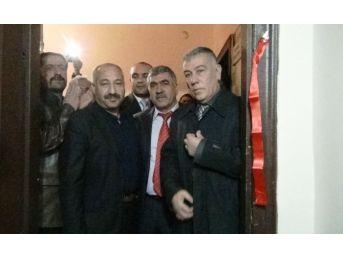 Mhp Erciş İlçe Başkanlığı'nın Yeni Binası Hizmete Açıldı