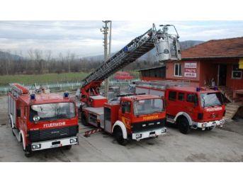 Çaycuma Belediyesine Almanya'dan Üçüncü İtfaiye Aracı