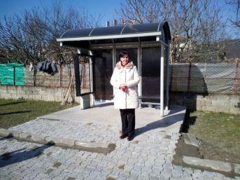 Saltukova Belediyesi'nden Yolcu Bekleme Durağı