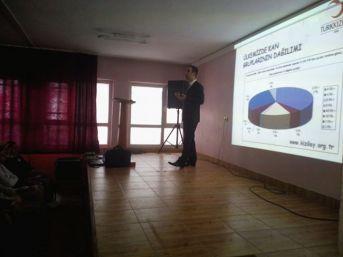 Saltukova'da Kan Bağışı'nın Önemi Anlatıldı