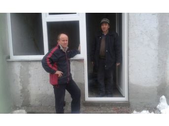 Taşçılı Köyü Muhtarı Keserci'nin Çalışma Azmi