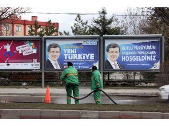 Afyonkarahisar, Başbakan Davutoğlu'nu Karşılamaya Hazırlanıyor