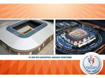 26 Yeni Futbol Stadı Projesinde Sona Doğru