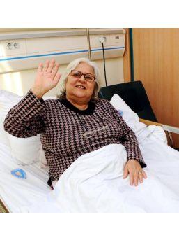 7 Yıldır Çektiği Bel Ve Bacak Ağrılarından, 18'inci Ameliyatta Kurtuldu