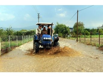 Aydın'da Yağış Etkisini Sürdürüyor