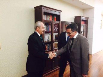Başkan Saka, Chp Genel Başkanı Kılıçdaroğlu'nu Ziyaret Etti