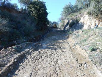 Çamlıbel Mahallesi'nde Arazi Yolundaki Köprü Onarıldı