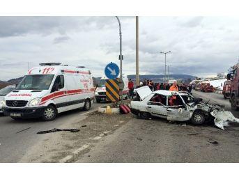 Bolu'da Trafik Kazası: 12 Yaralı